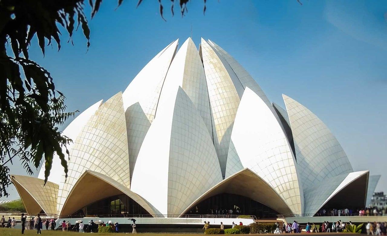 Temple du lotus Delhi Inde GO Voyages