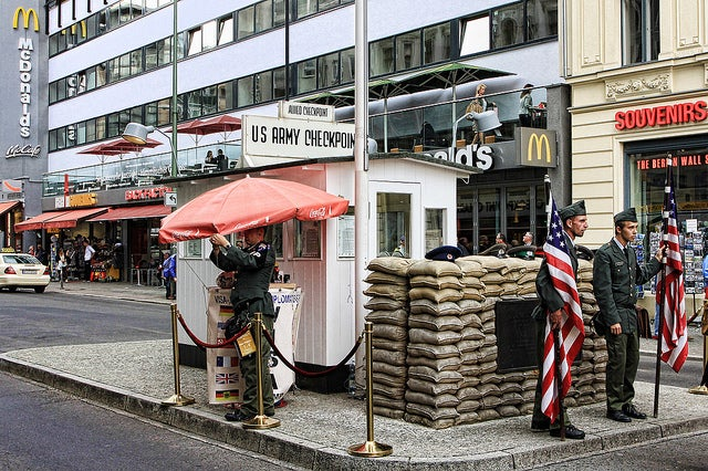 Checkpoint Charlie GO Voyages