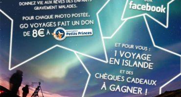Poster c'est donner pour exaucer un ou des rêves d'enfants de l'Association Petits Princes !