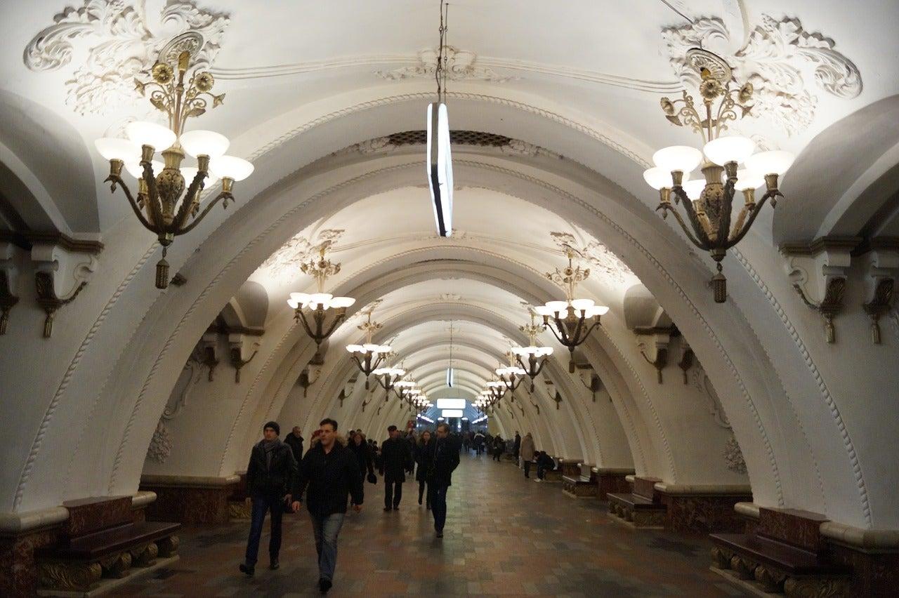 Métro de Moscou - blog GO Voyages