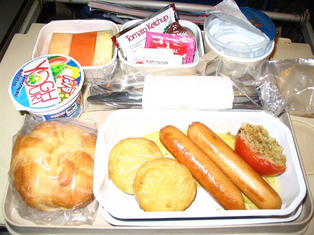 repas à bord GO Voyages