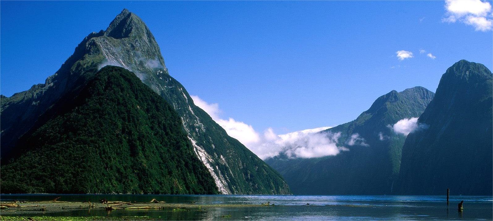 paysage fjord nouvelle-zélande - blog GO Voyages