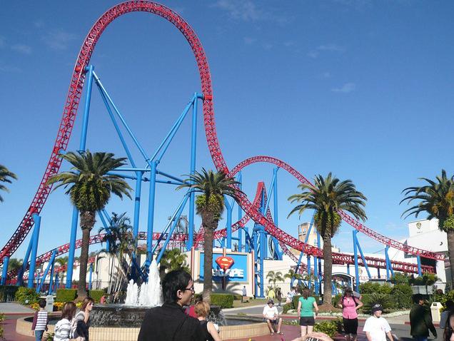 Roller Coaster Movie World