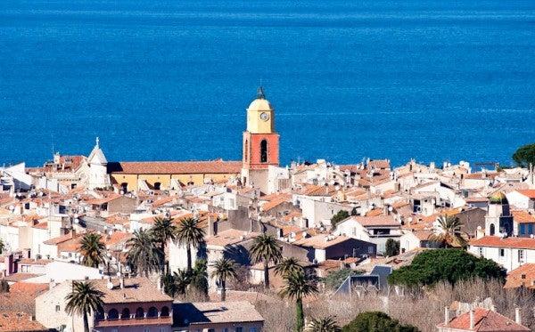 Le clocher de Saint Tropez