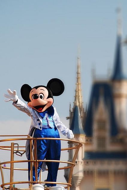 Mickey à Tokyo Disney Sea