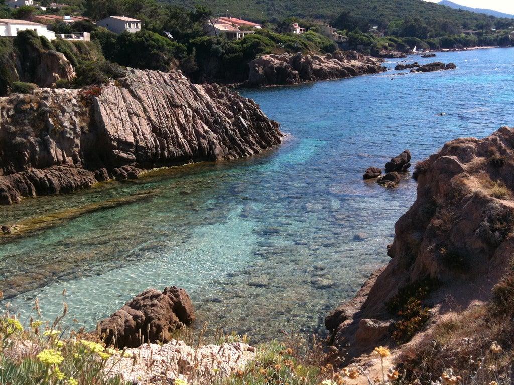 Plage de Ruppione en Corse