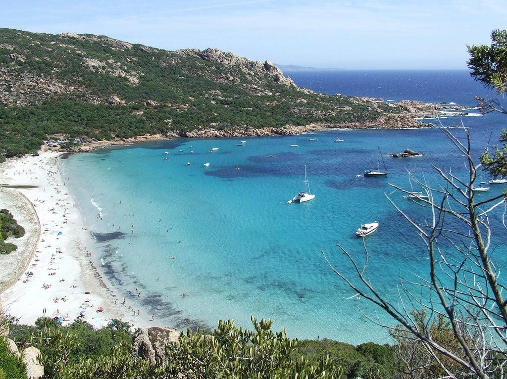 Crique de Roccapina en Corse