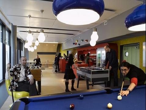 Les bureaux de google en irlande fabuleux