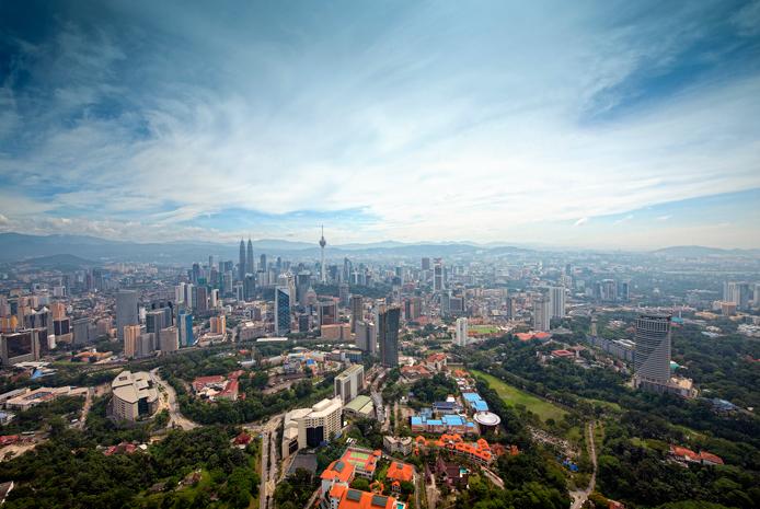 La skyline de Kuala Lumpur