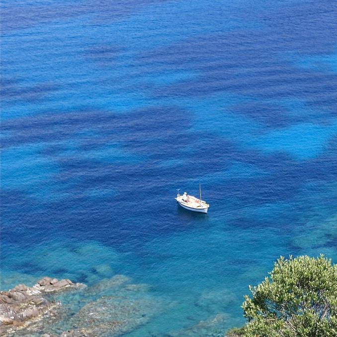 Plage de Campomoro en Corse