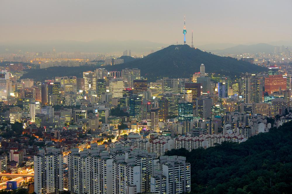 La skyline de Séoul