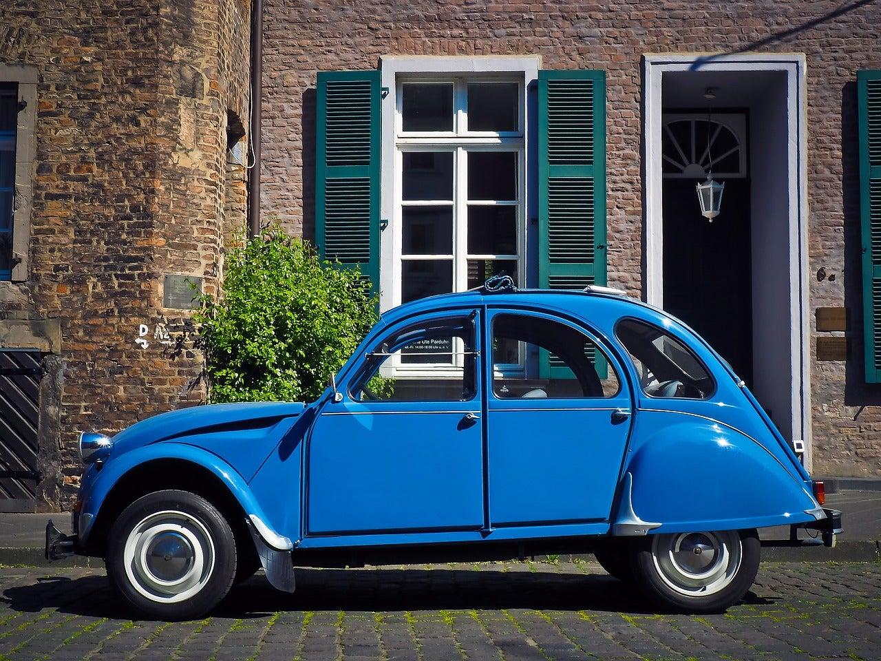 Citroën 2CV - blog GO Voyages