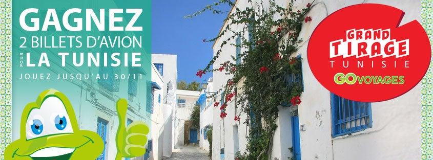 Grand Tirage Tunisie sur Go Voyages