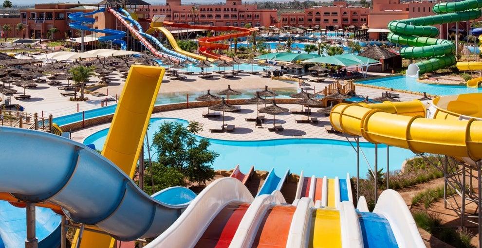 Les toboggans les plus fous for Club rabat piscine