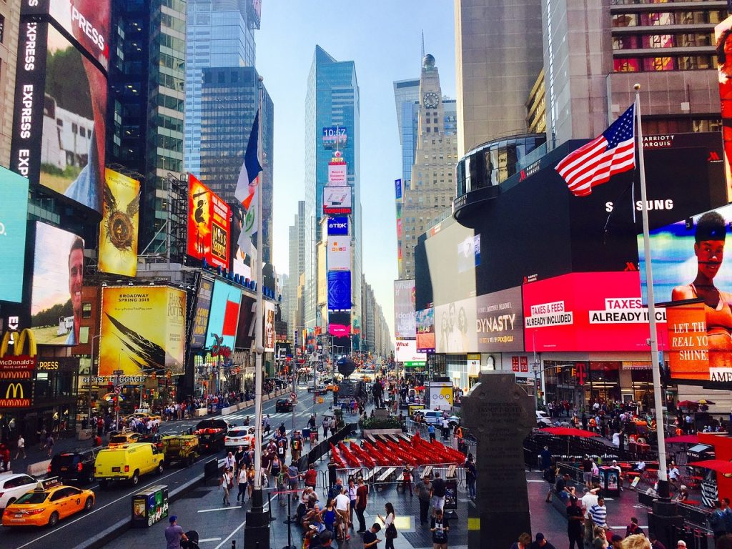 Times Square New York - blog GO Voyages