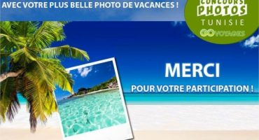 Concours photo Go Voyages Tunisair