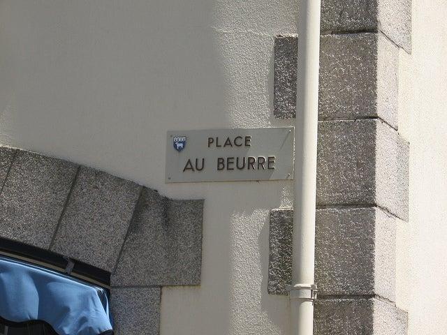 Place au beurre, Quimper