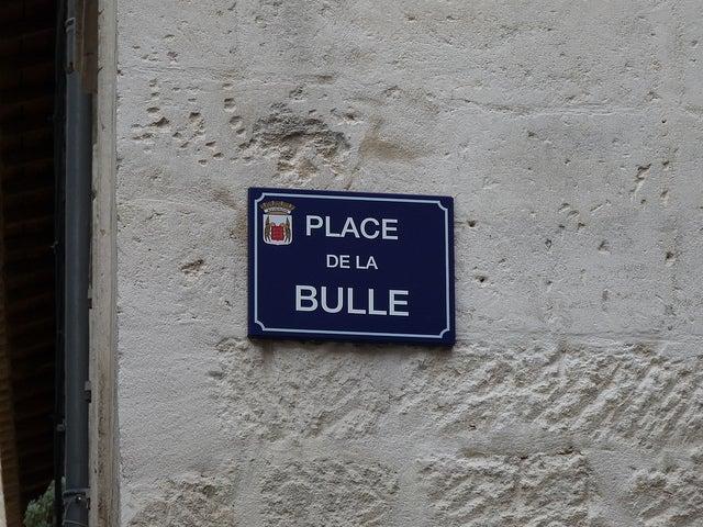 Place de la bulle Avignon