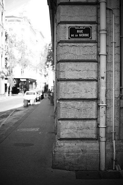 Rue de la Gerbe Lyon
