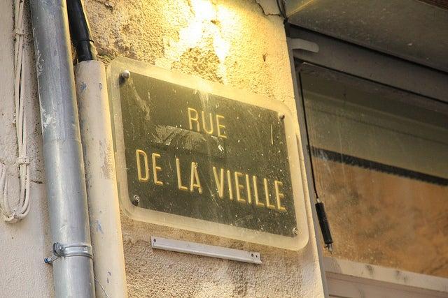 Rue de la vieille Montpellier