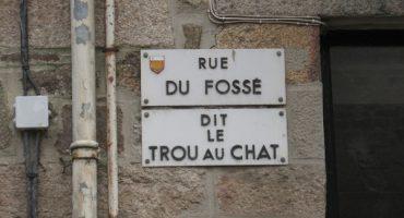 Les noms de rue les plus insolites de France!