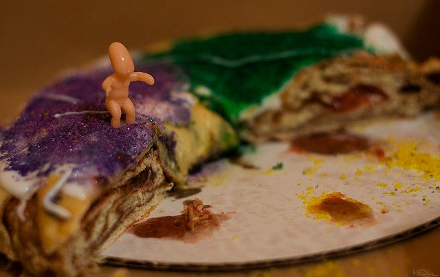 King Cake de New Orleans