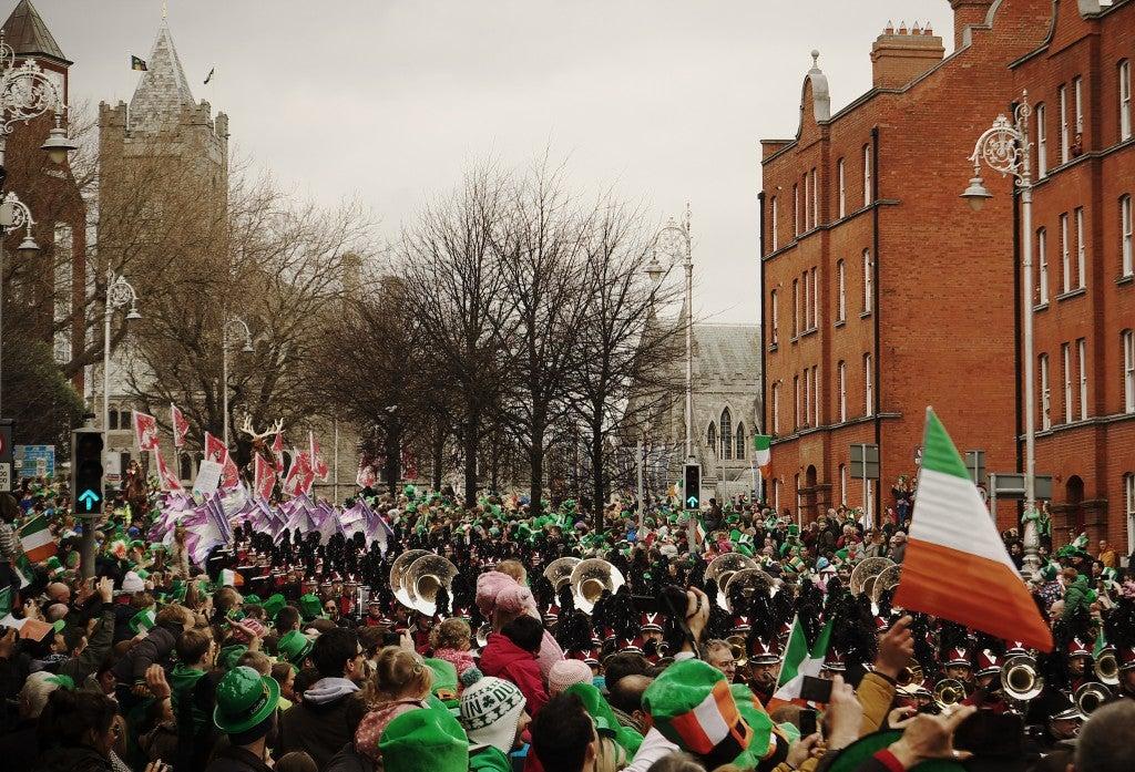 St Patrick à Dublin festival mars - blog go voyages