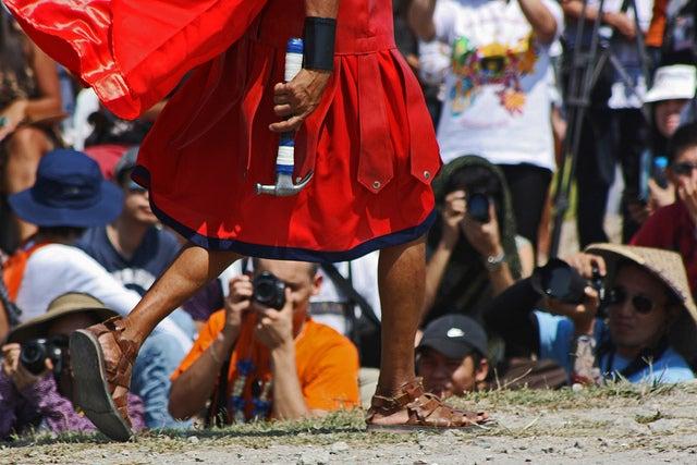 Crucifixion aux Philippines Pâques - blog go voyages
