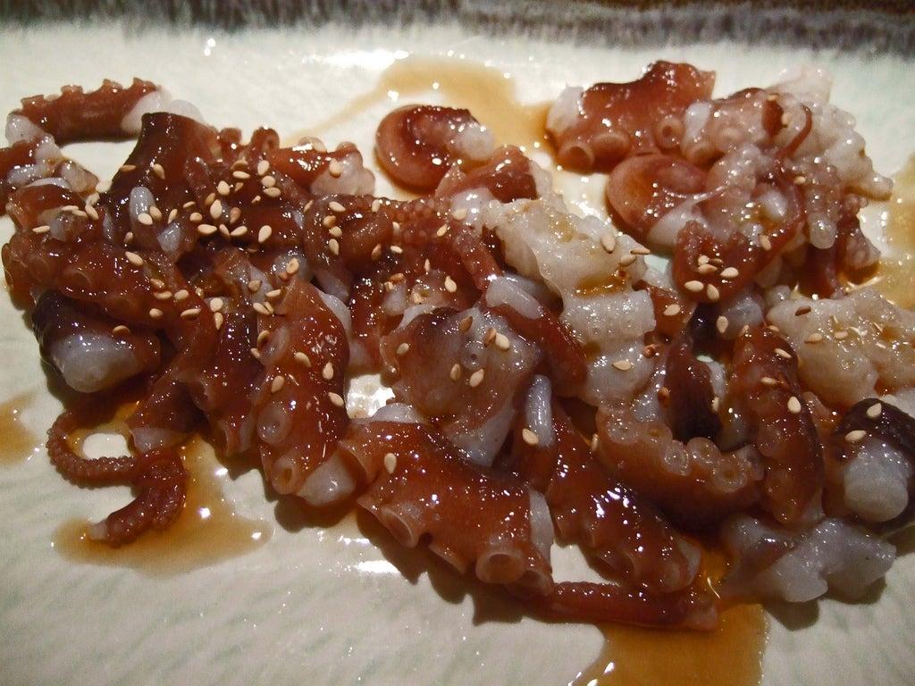 sannakji poulpe vivant en Corée