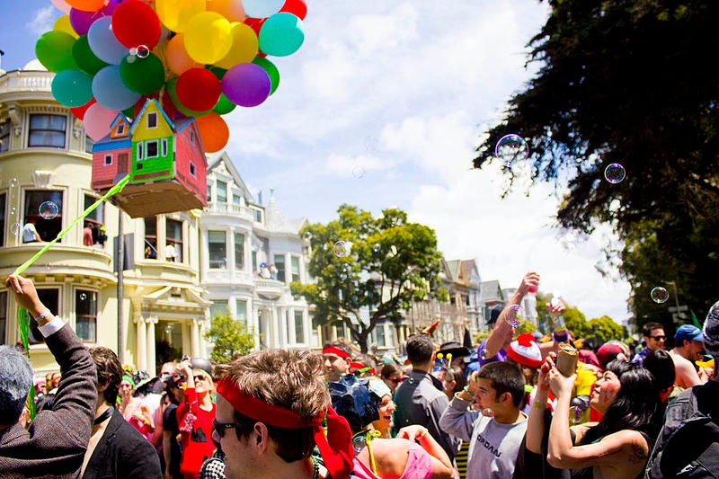 Bay to Breakers San Francisco - blog GO Voyages
