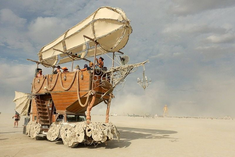 Burning Man - blog GO Voyages