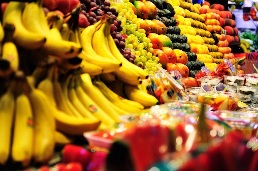 fruits marché Boqueria barcelone - blog GO Voyages