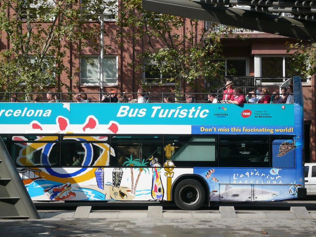bus touristique barcelone - blog GO Voyages