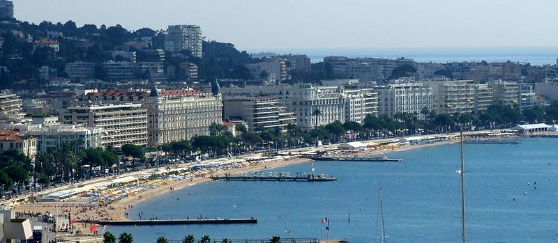 La Croisette, Cannes GO Voyages