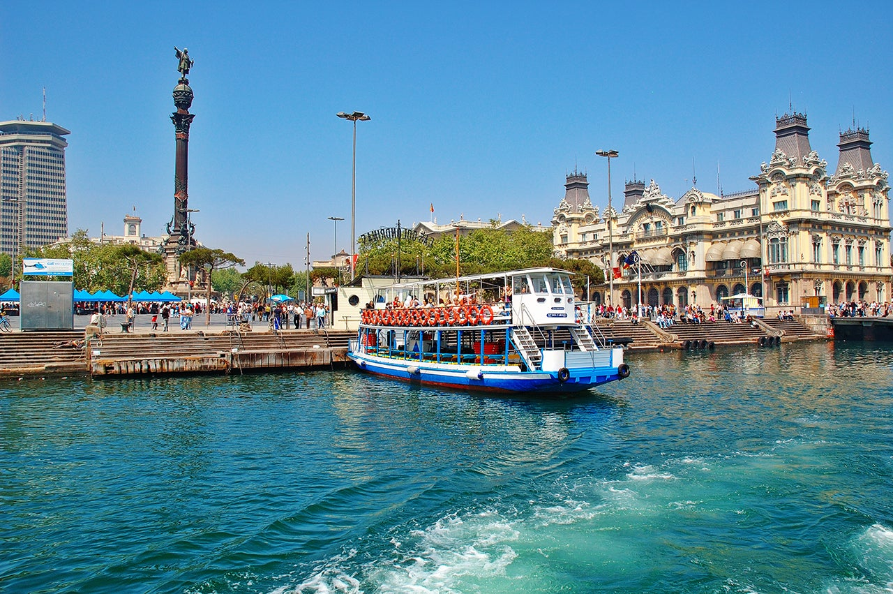 golondrinas bateau port barcelone - blog GO Voyages