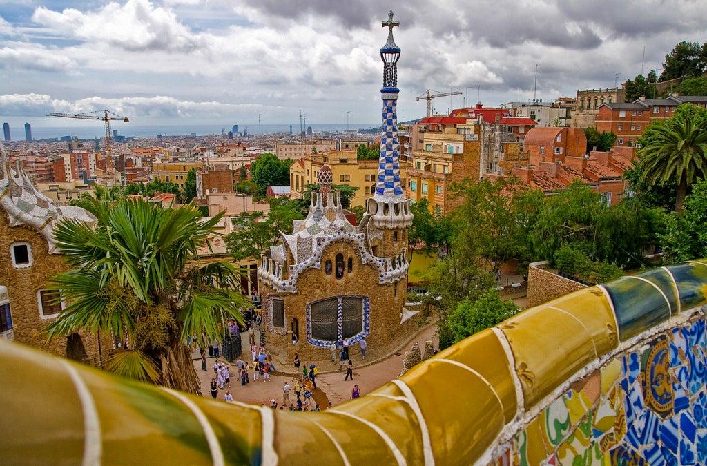 belvédère Parc Güell barcelone - blog GO Voyages