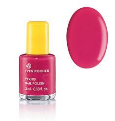 Vernis à ongles rose Yves Rocher