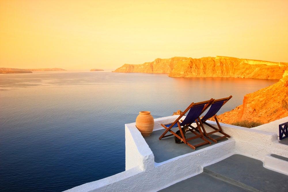 Santorin baie grèce - blog GO Voyages
