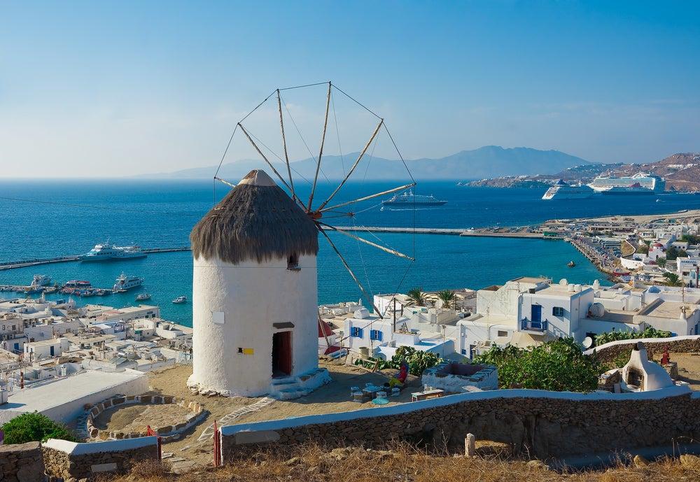 mykonos moulin grèce - blog GO Voyages