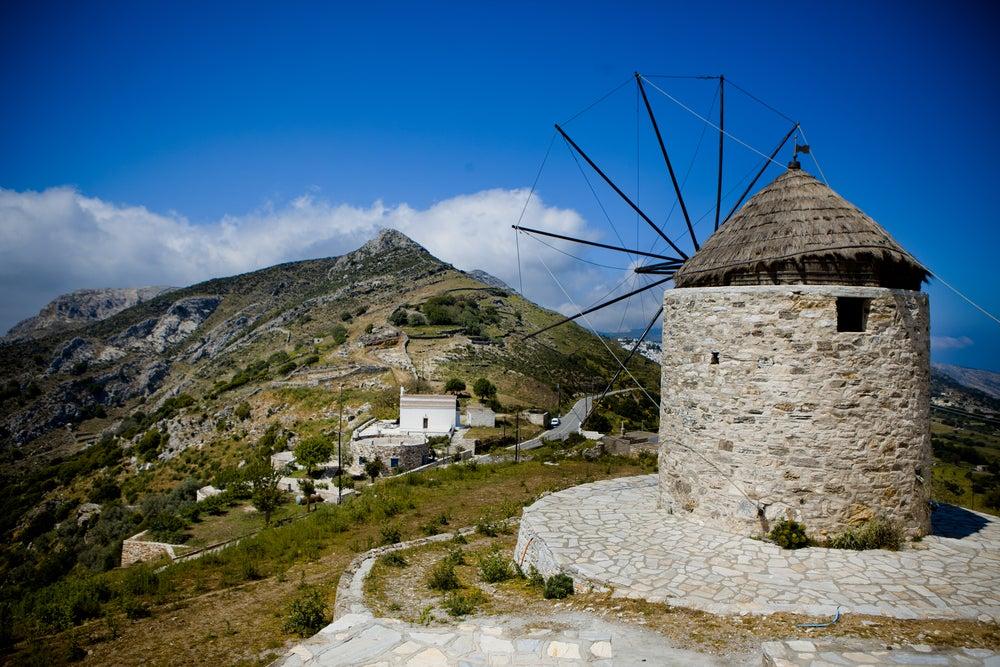 naxos moulin grèce - blog GO Voyages