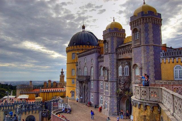 Sintra Portugal chateau Portugal en une semaine - blog go voyages