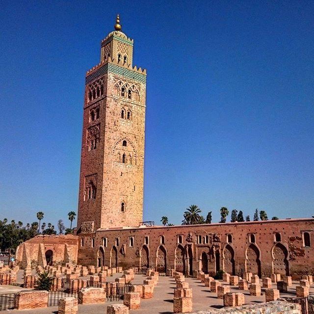 minaret mosquée Koutoubia Marrakech - blog GO Voyages