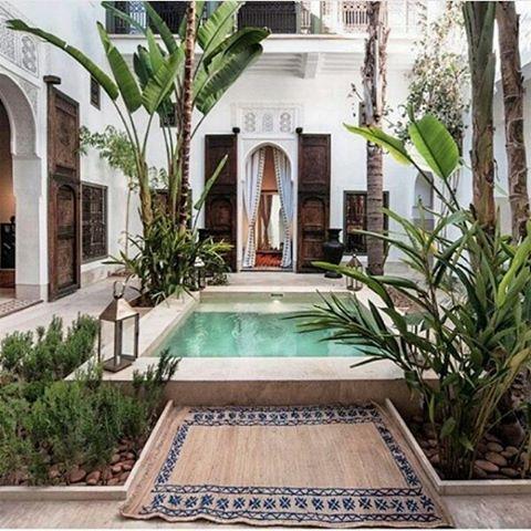 piscine Riad Marrakech - blog GO Voyages