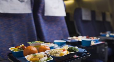 Repas et menus spéciaux en avion