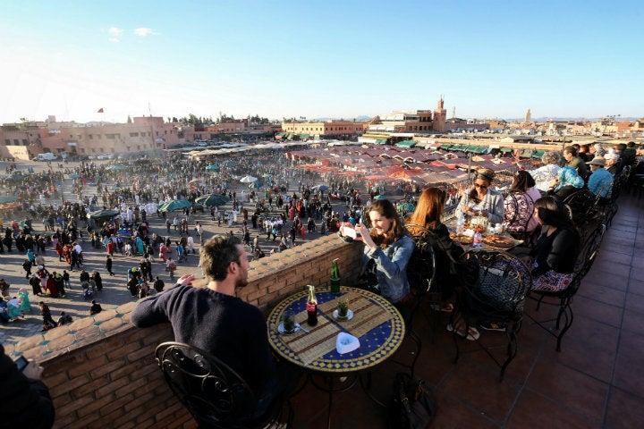 place jemaa el fna marrakech - blog GO Voyages