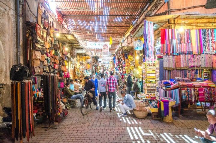 souk marrakech - blog GO Voyages