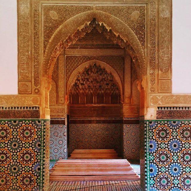 tombeaux saadiens marrakech - blog GO Voyages