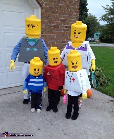 Deguisement Lego