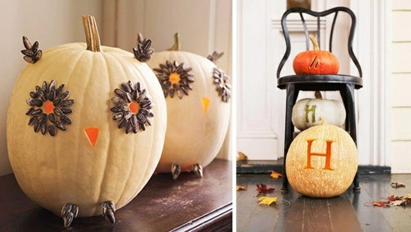 Halloween d corations terrifiantes faire soi m me - Decoration citrouille pour halloween ...