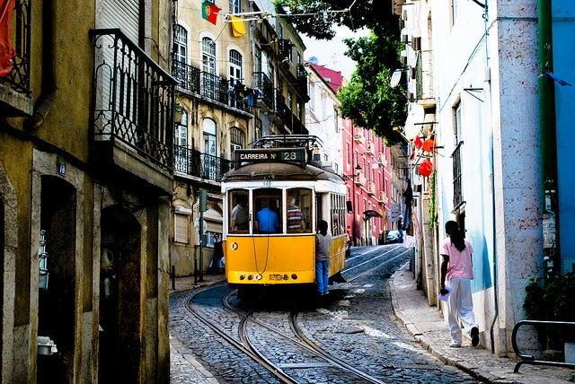 tramway lisbonne - blog GO Voyages